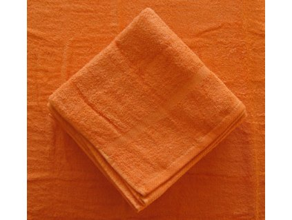 Ručník froté 50x100 - cihlově oranžový