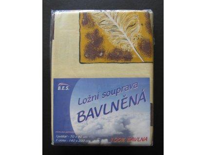 Bavlněné povlečení 140x200 - Barbora