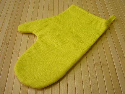Kuchyňská chňapka - žlutá