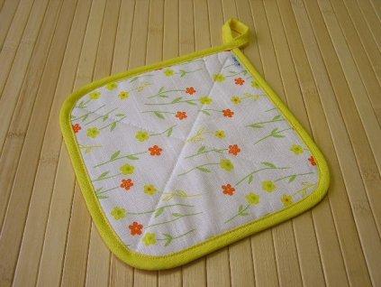 Termopodložka - Jarní květiny žluté