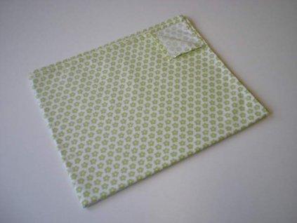 Prostírání - Zelená kytička