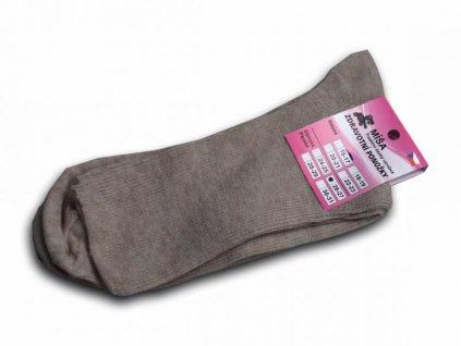 Zdravotní ponožky - béžová