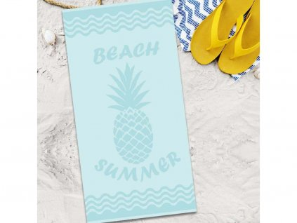Plážová osuška 80x160 - Ananas