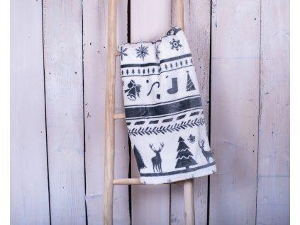 Mikroplyšová deka 150x200 - Christmas