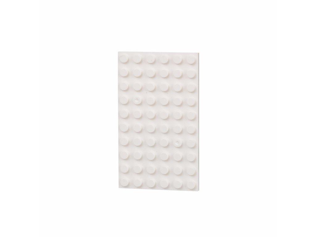 Oboustranná deska 6 x 10 (bodů)  kompatibilní s Lego, Sluban, Cogo aj.