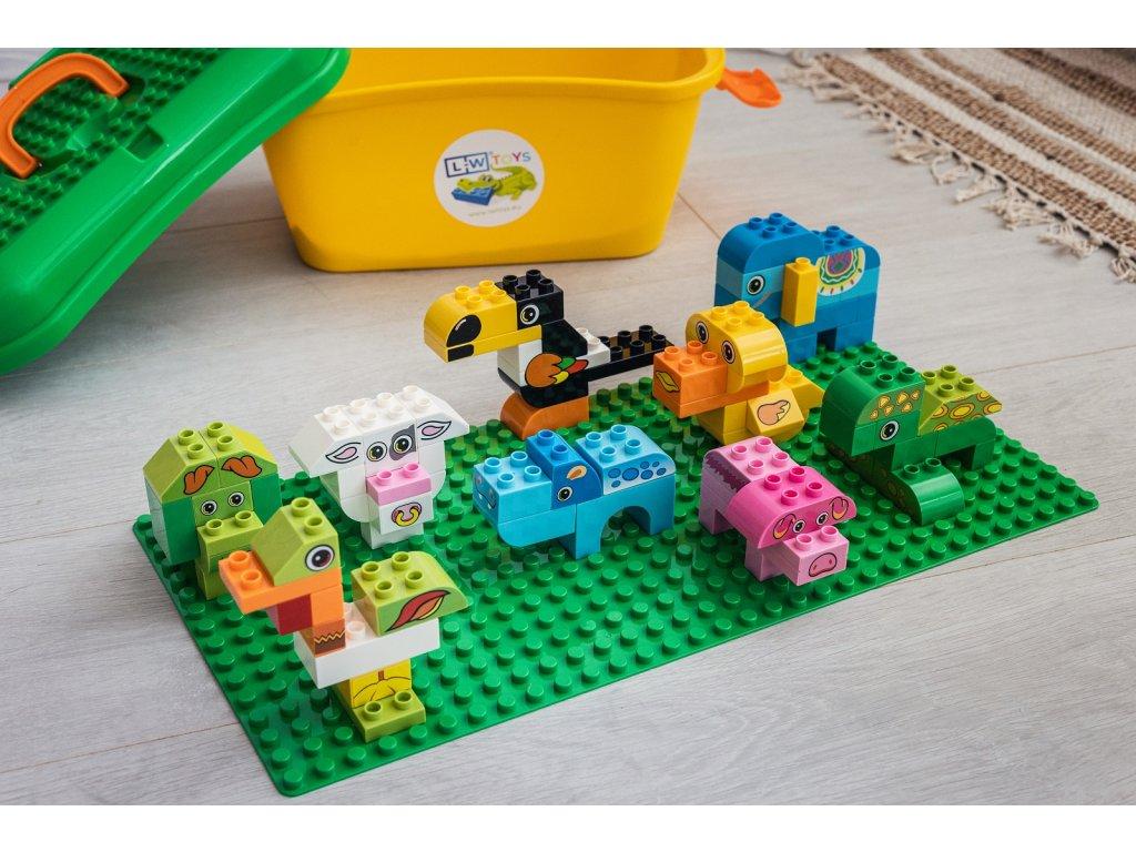 stavebnica hracky zvieratka lego 14