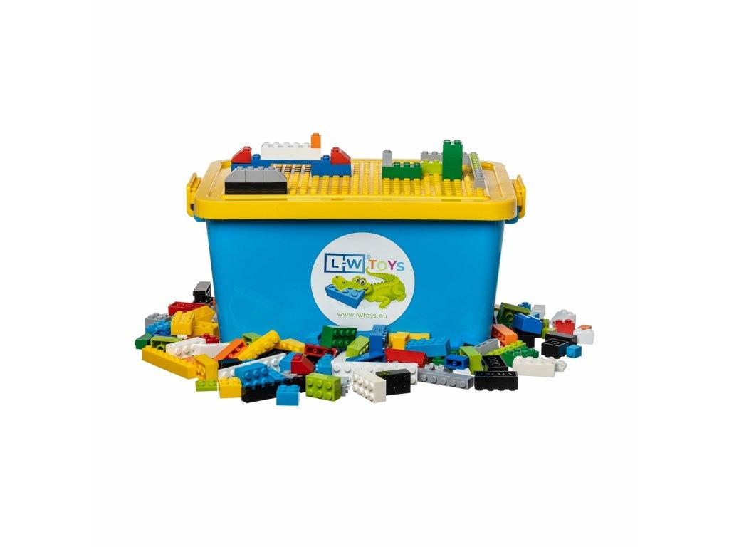 Krabice žluto:modrá 2