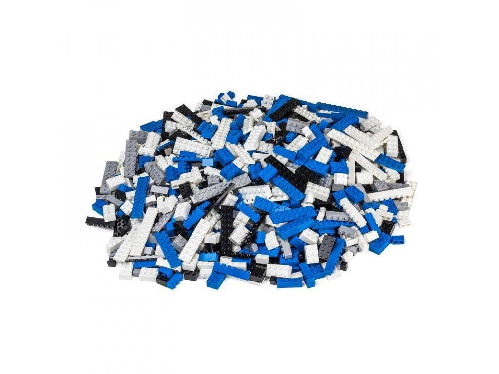 Stavebnice pro děti - Policejní set 1000 ks (těžký)  kompatibilní s Lego, Sluban, Cogo aj.
