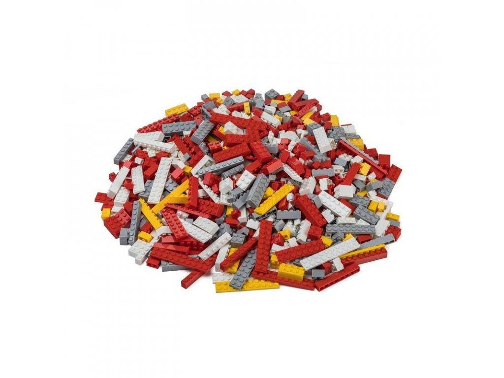 Stavebnice pro děti - Hasičský set 1000 ks (lehký)  kompatibilní s Lego, Sluban, Cogo aj.