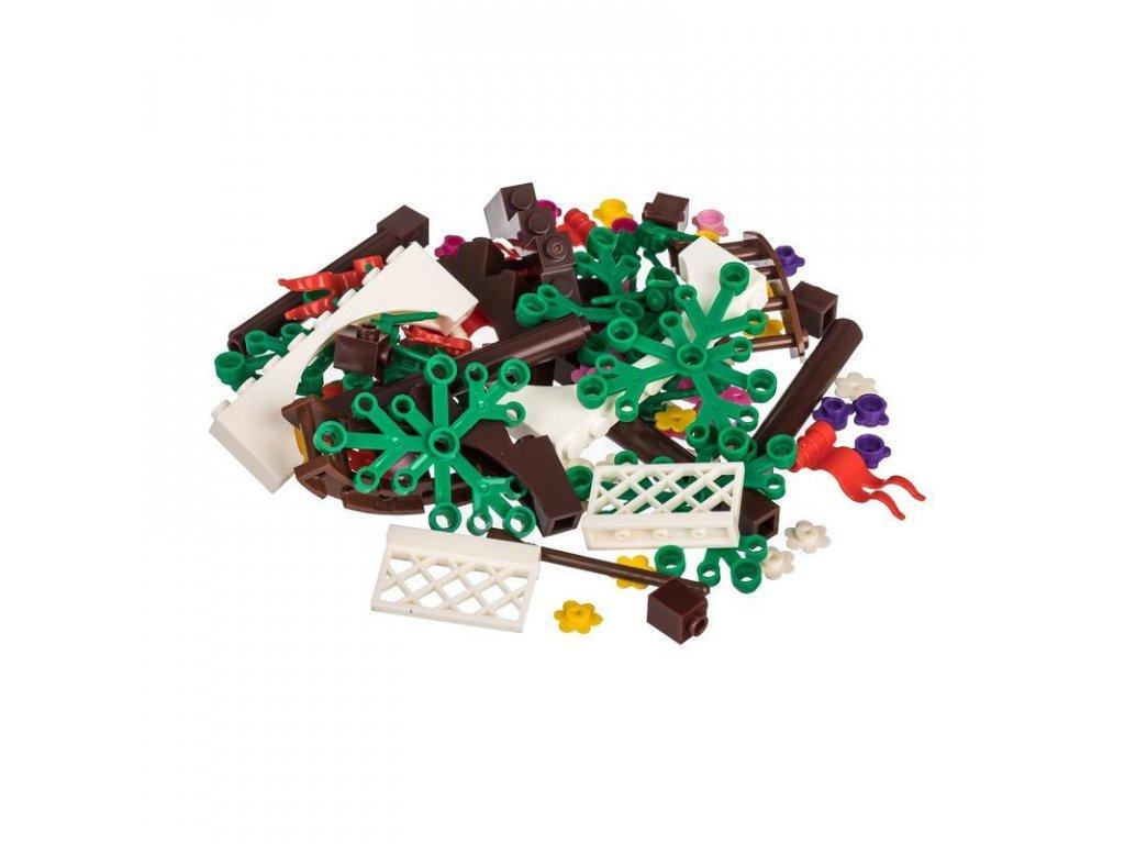 Kreativní set dívčí 70 ks  kompatibilní s Lego, Sluban, Cogo aj.