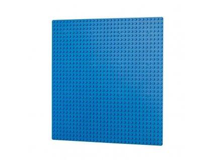 Podložka na stavění 32x32 bodů - modrá  kompatibilní s Lego, Sluban, Cogo aj.