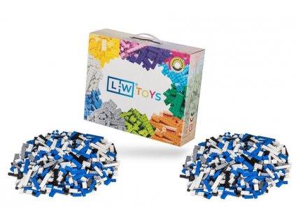Stavebnice pro děti - Policejní set 2000 ks  kompatibilní s Lego, Sluban, Cogo aj.