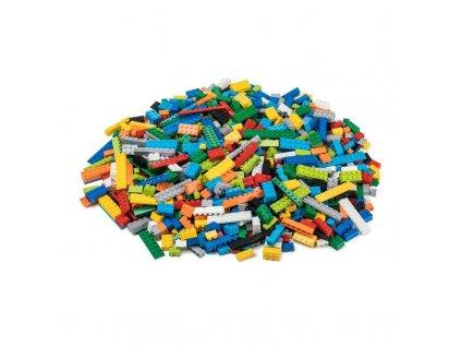 Stavebnice pro děti - Základní set 1000 ks (těžký)  kompatibilní s Lego, Sluban, Cogo aj.