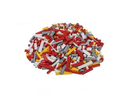 Stavebnice pro děti - Hasičský set 1000 ks (těžký)  kompatibilní s Lego, Sluban, Cogo aj.
