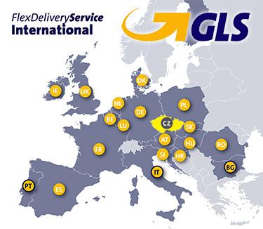 GLS doprava po celé evropě
