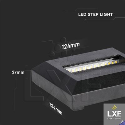led osvětlení schodiště V-TAC VT-1152SQ, černé