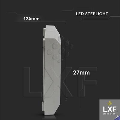 led osvětlení schodiště V-TAC VT-1152SQ, šedé