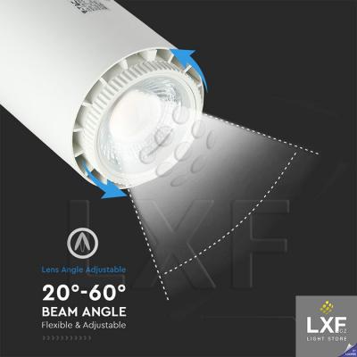 stropní bodové osvětlení V-TAC VT-4745 bílé