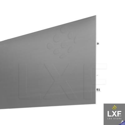 lišta na LED pásek KLUS ATRA (anodizovaný)