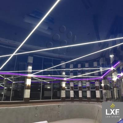 profily pro LED pásky KLUS FOLED (neanodizovaný)