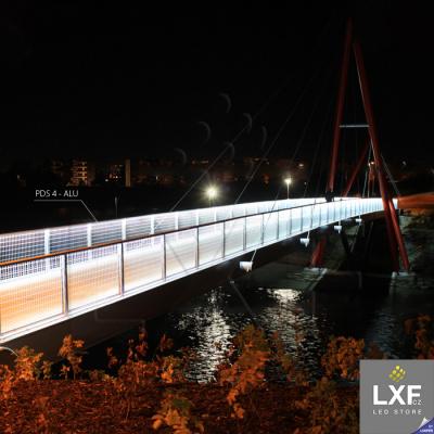 lišta pro LED pásek KLUS PDS-ALU bílý