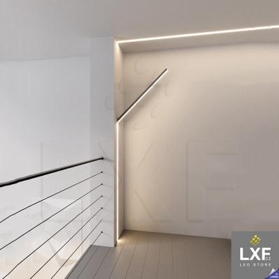 lišta pro LED pásek KLUS LIPOD černý