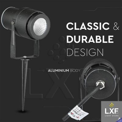venkovní LED světlo V-TAC VT-857, černé