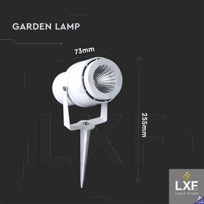 zahradní osvětlení V-TAC VT-857, bílé