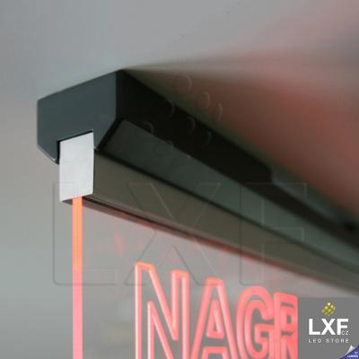 lišta pro LED pásek KLUS EX-ALU (anodizovaný)