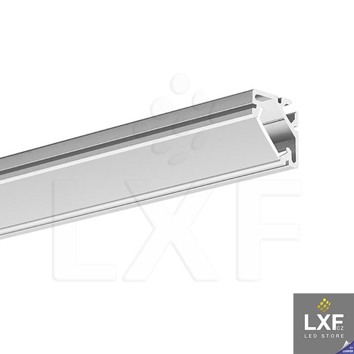 led profil rohový KLUS 45-16 anodizovaný