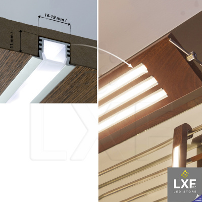 LED lišta KLUS PDS4-K bílý