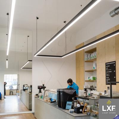 lišta pro LED pásek KLUS DES (anodizovaný)