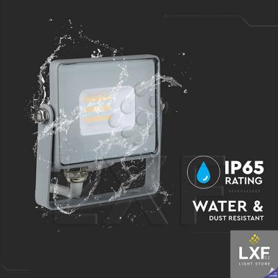 přenosný led reflektor 10W V-TAC VT-10, šedý