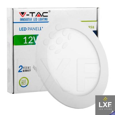 led panel V-TAC VT-1207 kulatý 12W