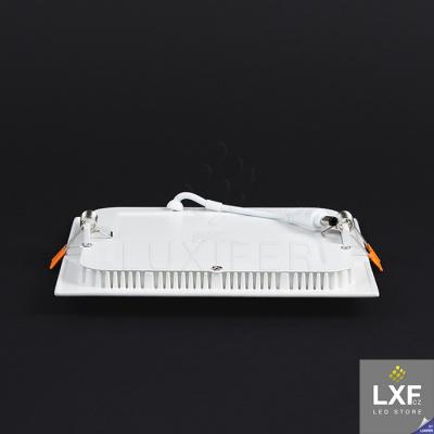 led panel stmívatelný V-TAC VT-1207 hranatý 12W