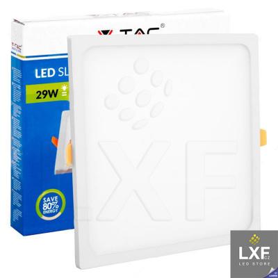 led panel V-TAC VT-2929 hranatý 29W