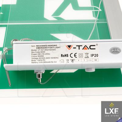 nouzové světlo V-TAC VT-521 SKU-8314