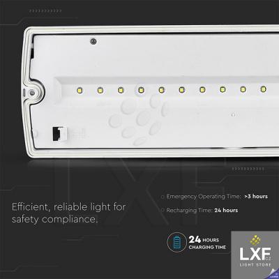 nouzové svítidlo LED V-TAC VT-523-S SKU-847