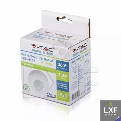 světelné čidlo V-TAC VT-8004, bílé
