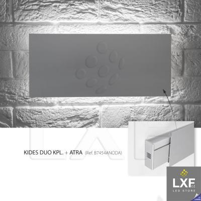 profily pro led pásky KLUS ATRA anodizovaný