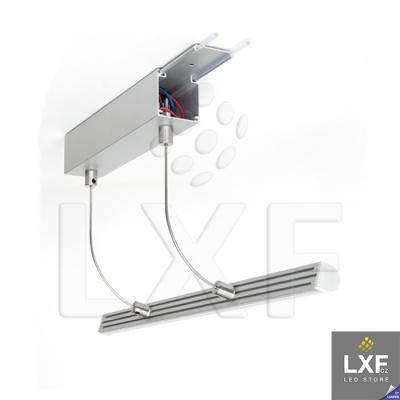 lišta na LED pásek KLUS BOX anodizovaný
