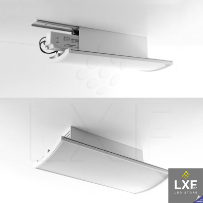 led profil KLUS BOX anodizovaný