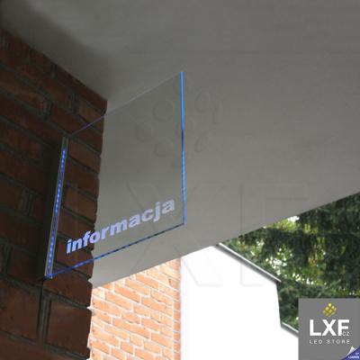 lišta pro led pásek KLUS EX-ALU anodizovaný
