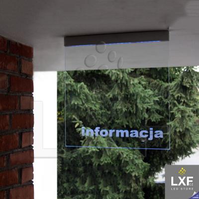 profily pro led pásky KLUS EX-ALU anodizovaný