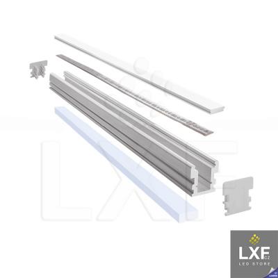 lišta na LED pásek KLUS HR-LINE anodizovaný