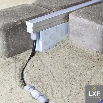 profily pro LED pásky KLUS HR-LINE anodizovaný