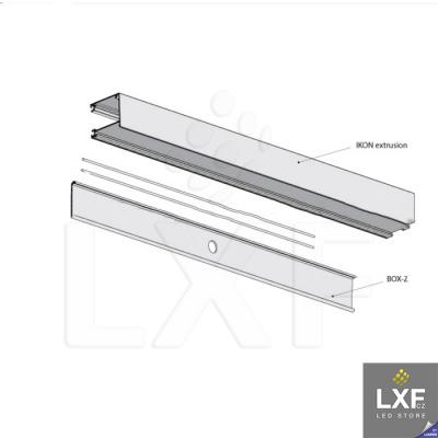 led profil KLUS IKOM anodizovaný
