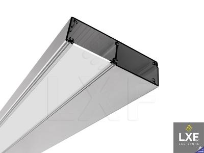 lišta na LED pásek KLUS KIDES anodizovaný