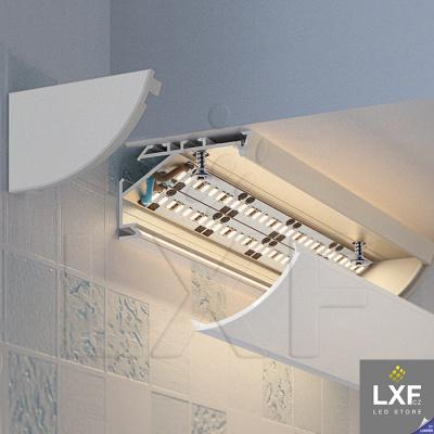 rohová lišta na LED pásek KLUS KOPRO-30 anodizovaný