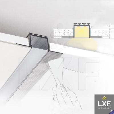 podhledove LED svetlo pásek KLUS KOZEL neanodizovaný